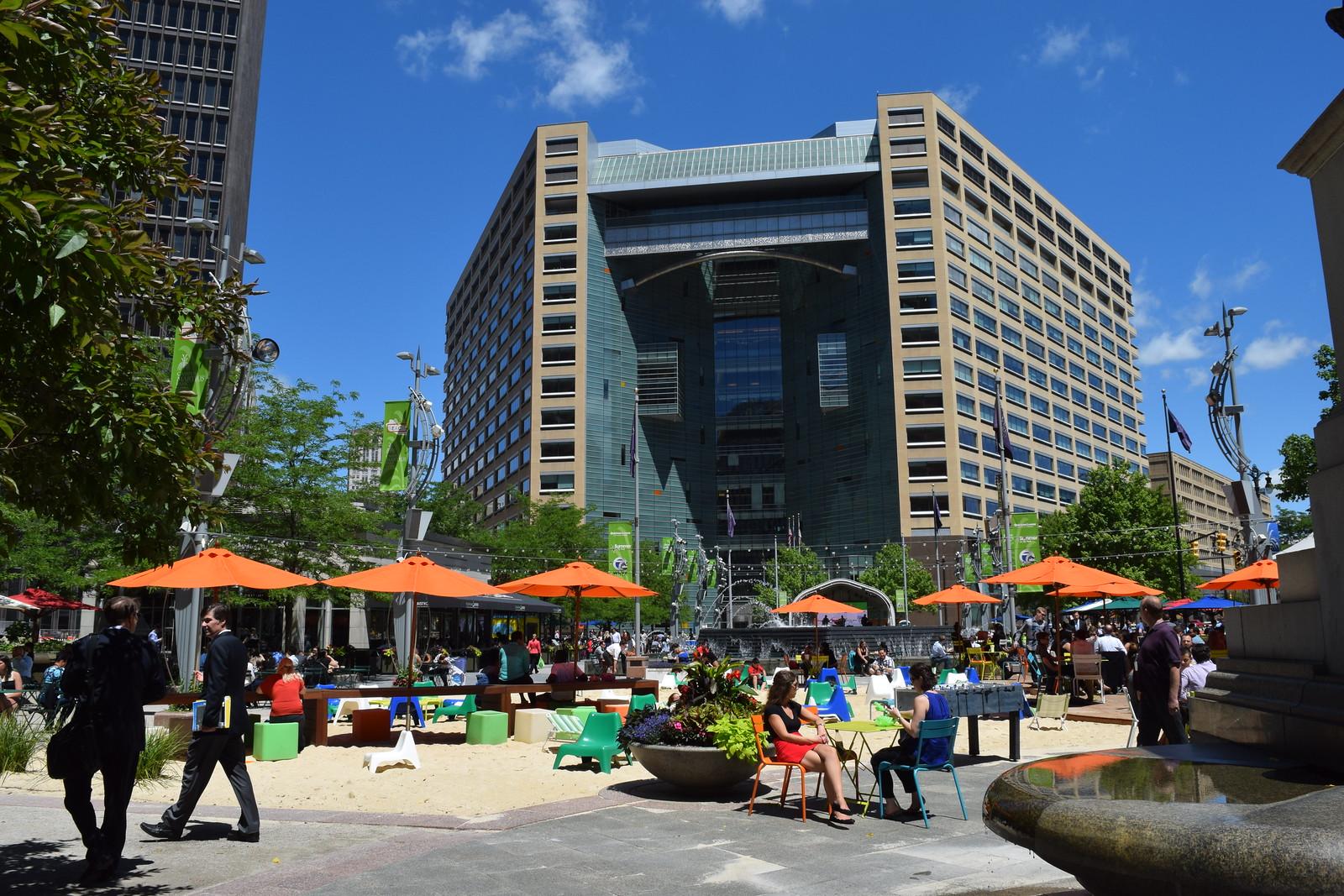 Detroit's Campus Martius Park: Placemaking in Action June 2015