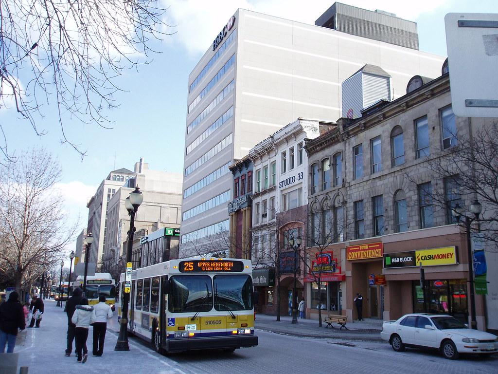 downtown hamilton  king street