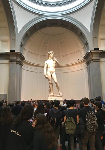 David by Michelangelo, Galleria dell'Accademia, Florença.   by ER's Eyes