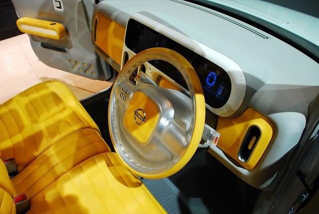 Nissan Cube Interior 2 | Dave Pinter | Flickr
