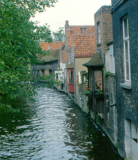 Bruges - Another Canal Scene