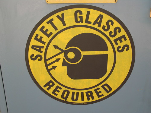 safety glasses | by donielle