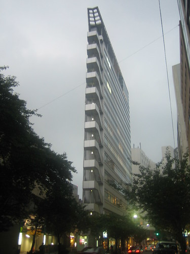 A really skinny building in Tokyo | by mrbigb2z
