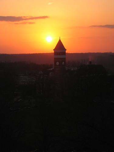 sunset southcarolina tillman clemson