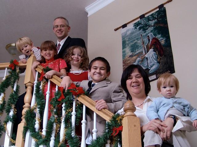 Family Christmas Photo 2008, Landscape