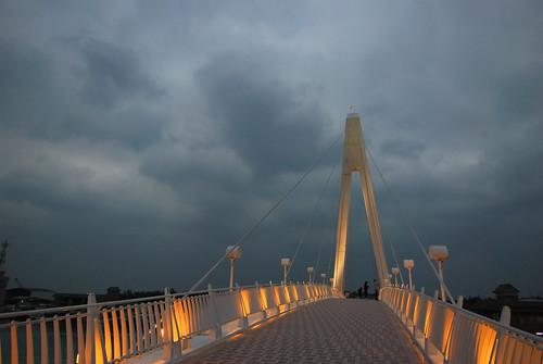 Love Bridge    U6de1 U6c34  Taipei  Taiwan