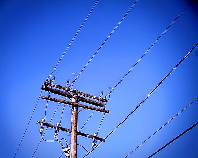 telephone pole