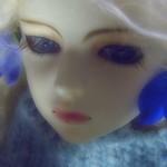 毘盧遮那=Virocana with Delphinium / odd eye