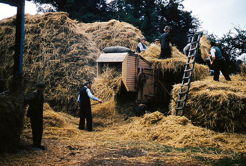 The threshing machine - Inchigeela, Ireland