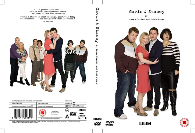 a home for Gavin & Stacey! dvd cover