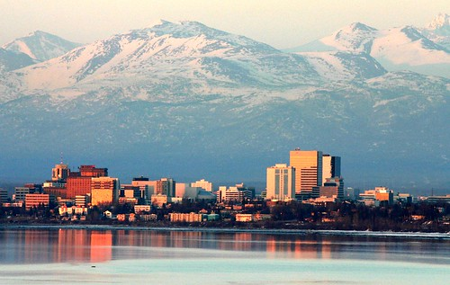 Anchorage looking nice on an April evening | by Alaskan Dude