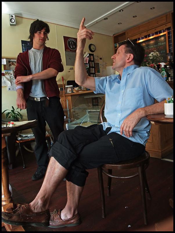 The coffee shop 'philosophe'