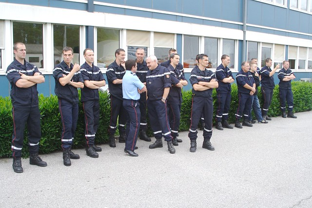 Pompiers Savoyards