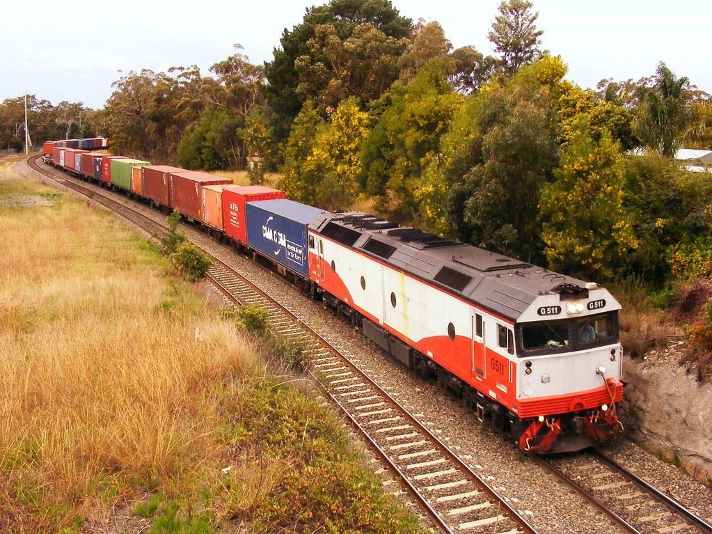 G511 at Yanderra (4SM9) by Frederick Sawyer