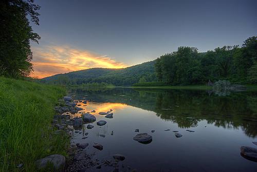 sunset landscape geotagged newjersey pennsylvania nj pa poconos hdr delawareriver delawarewatergap pocono sigma1020mm 3xp delawarewatergapnationalrecreationarea