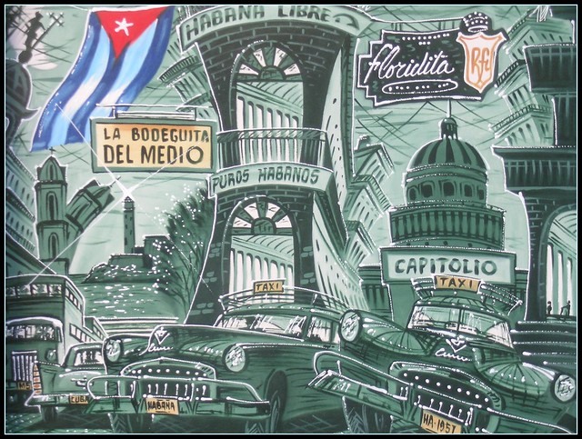 Ciudad de la Habana Cuba - Quadro...turistico