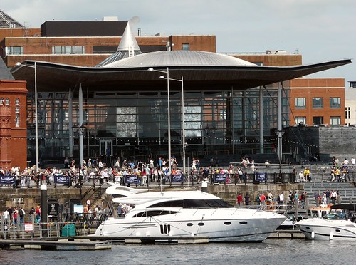 The new Cardiff Bay