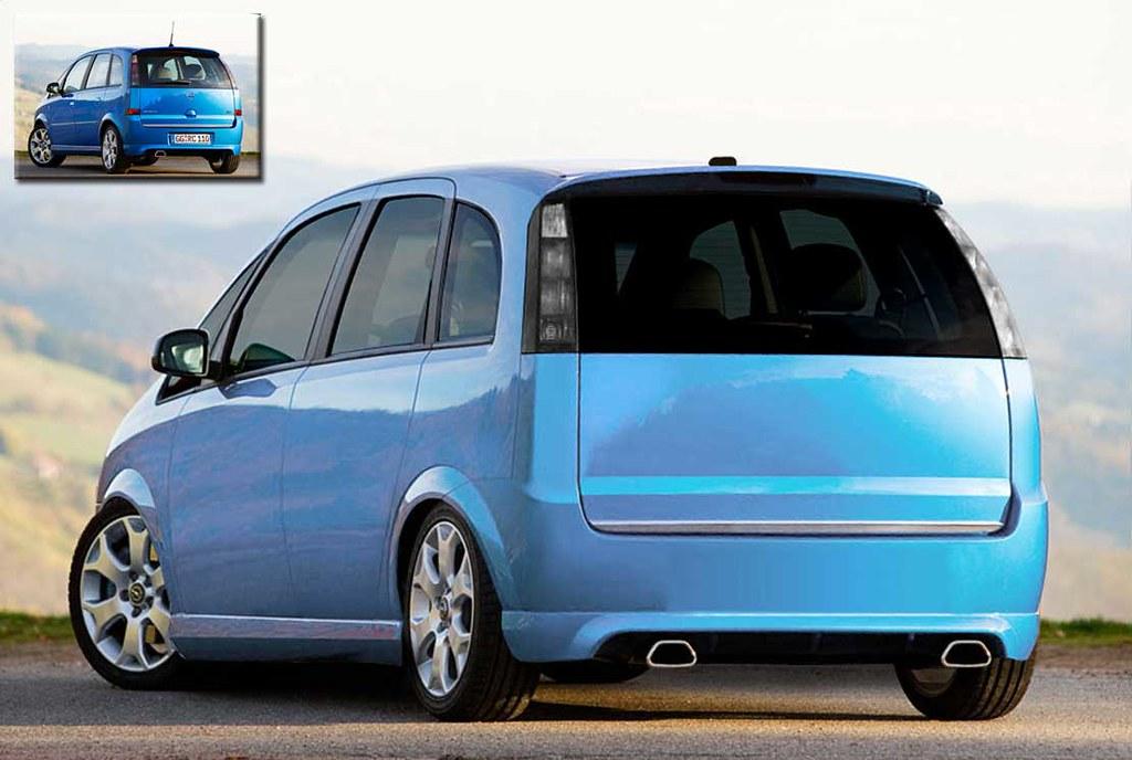 Opel Meriva Opc Brokk Oli Flickr