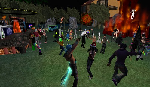 PARTY PEOPLE AT ORGANICA | by rafeejewell