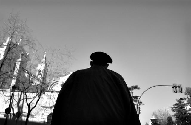 Madrid silhouette