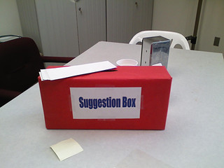Suggestion Box (6/365)