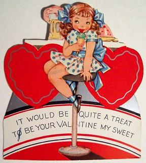 Vintage Valentine's Day Card | by riptheskull