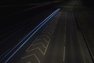 Light Trails // Rettendon - 4126   by artwork_rebel