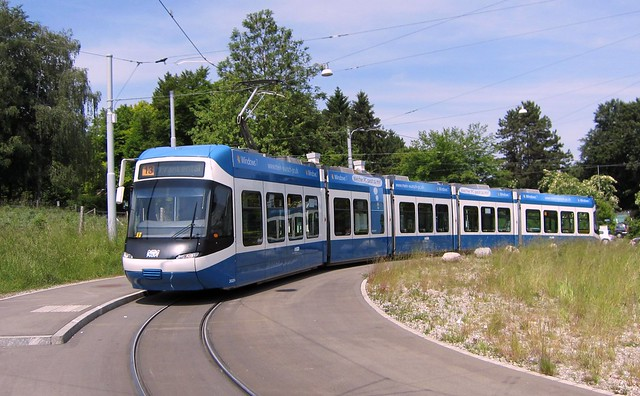 Tram Cobra Be 5/6 Zürich 2011