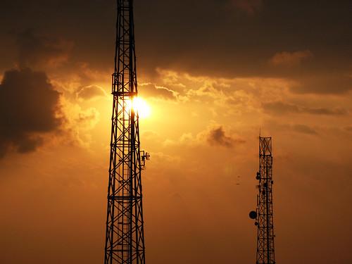 sunset tower nature canon powershot trivandrum g7 saifudeen