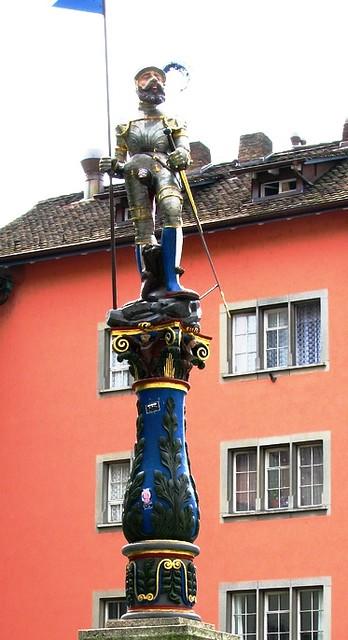 Self Walking Tour, Zurich, Switzerland