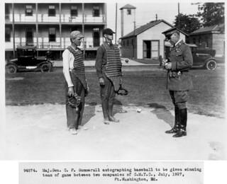 Fort Washington, MD baseball July 1927