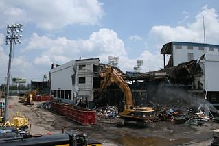 Tiger Stadium Demolition 7/26/08 | by Mike Pierzynski