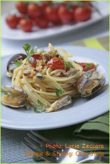 Pasta: Vermicelli with Mediterranean Clams... | by ockstyle