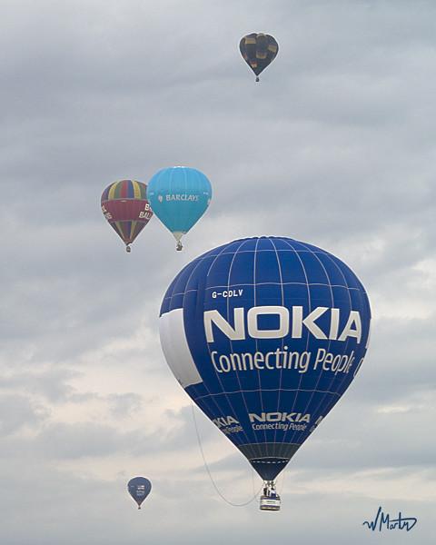Bristol International Balloon Fiesta, G-CDLV Team Nokia