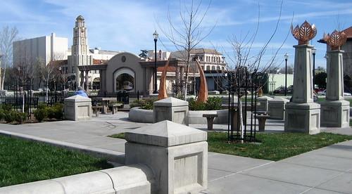 chico-downtown-city-plaza   by Suzi Rosenberg