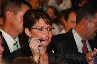 Sarah Palin Ready to Sign | by Dave Frazee