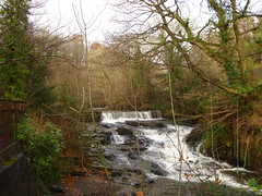 Clydach Waterfall  on the Lowe Clydach River, taken by Menir