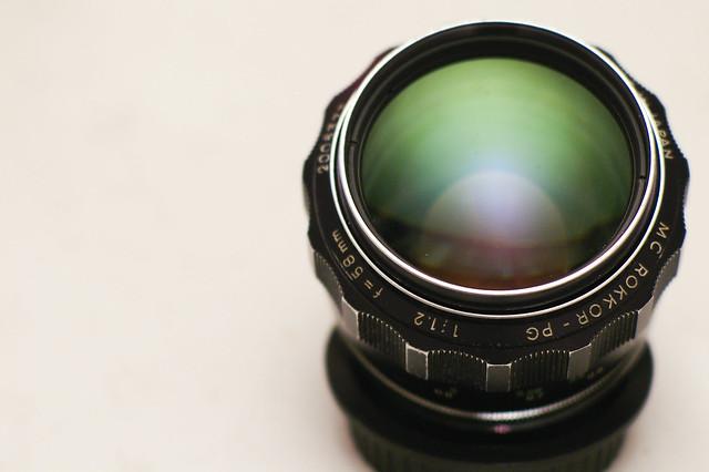 Minolta MC Rokkor - PG 58mm f/1.2 58