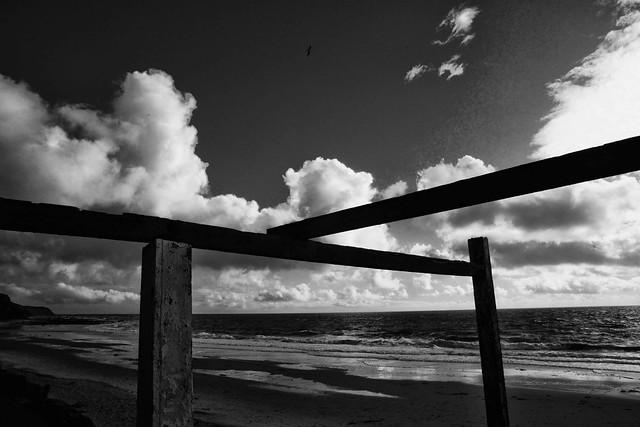 Framed Sky & Ocean