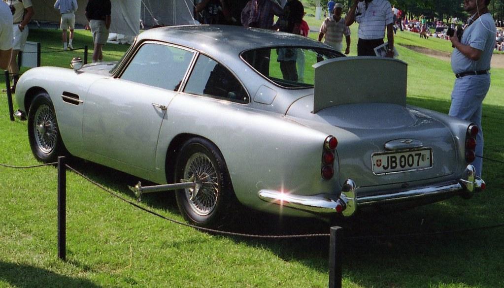 1964 Aston Martin Db5 >> 1964 Aston Martin Db5 James Bond 007 Richard Spiegelman