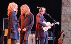 Alison Kraus & Robert Plant & T-Bone Burnett, Santa Cruz 2008   by bp fallon