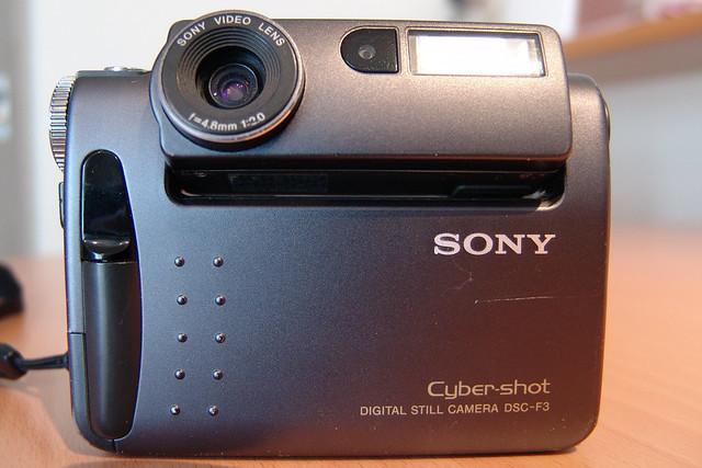SONY Cyber-shot DSC-F3