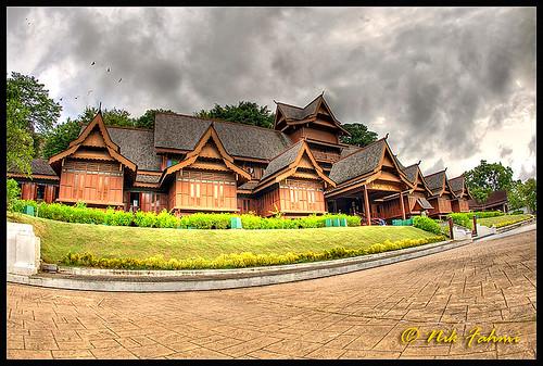 museum architecture photoshop traditional palace fisheye malaysia hdr melaka malacca cs3 sultanate photomatix 5exp canoneos1dmarkiii canonef15mmf28fisheye abigfave ©nikfahmi goldstaraward