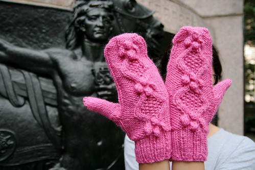 Hot Pink Mittens | by baba lu