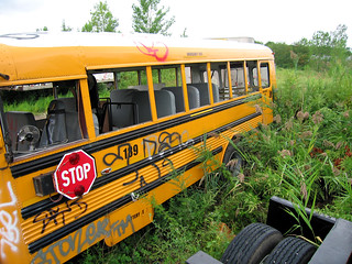 Staging Area - School Bus - Northern Facade | by Hetx