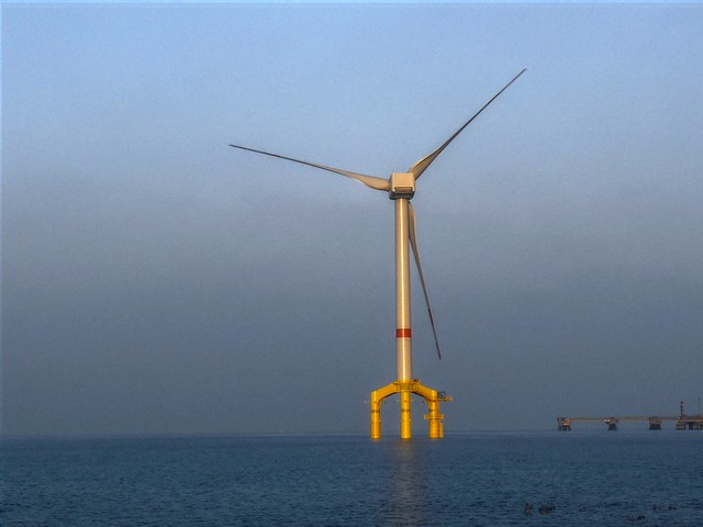 Germany goes offshore