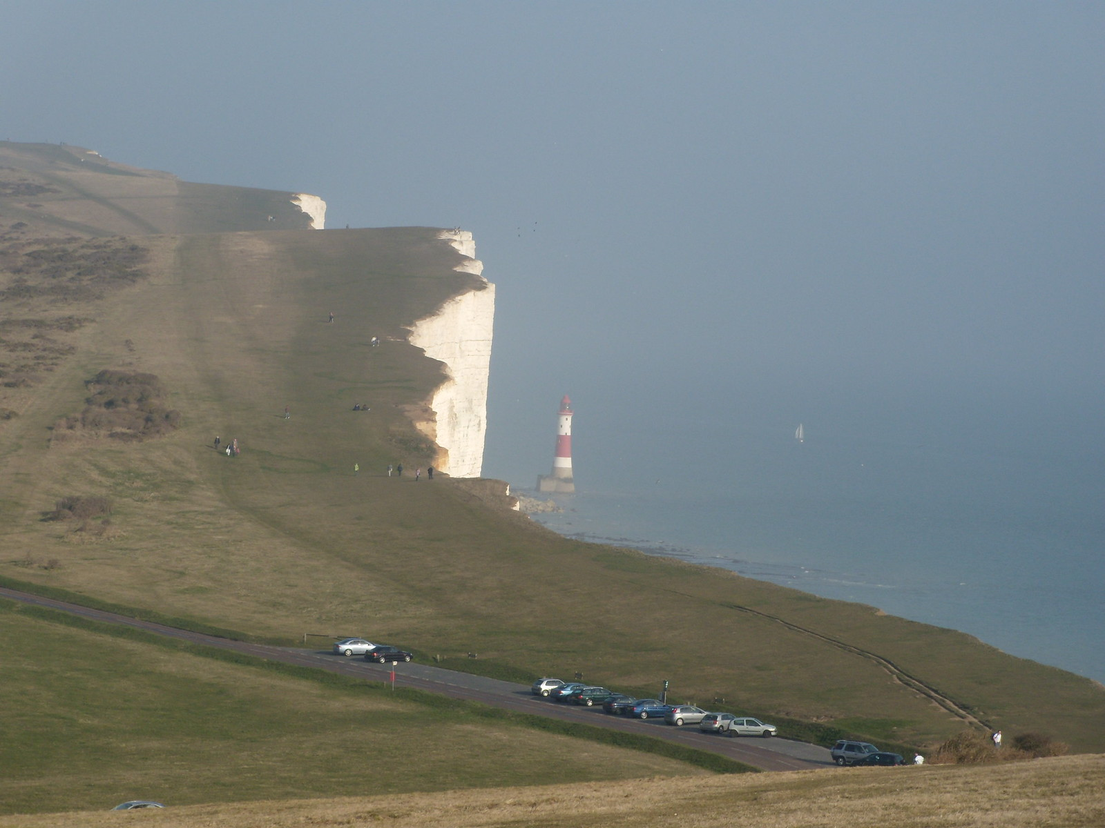 Beachy Head lighthouse Seaford to Eastbourne