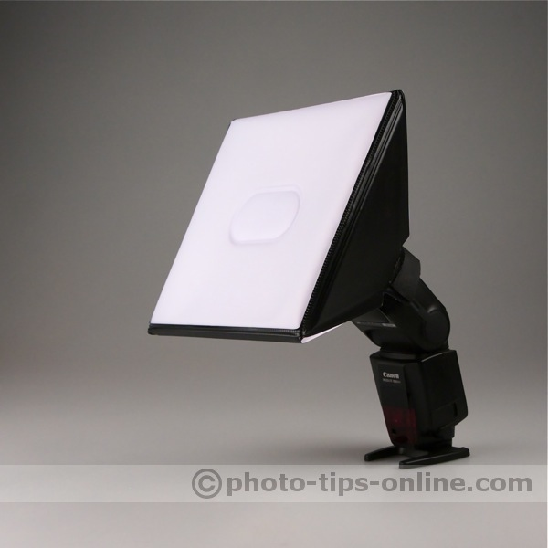 LumiQuest Softbox III flash diffuser review
