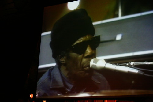 A video of Professor Longhair in between sets on the main stage — brilliant! (Photo by Jef Jaisun)