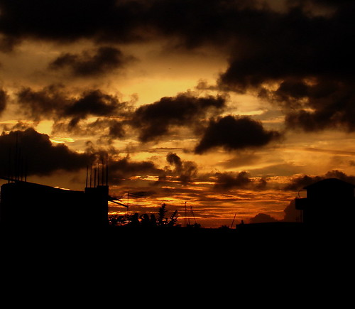 sunset sky cloud evening dhaka bangladesh supershot dscw100 anawesomeshot aplusphoto musfeque